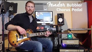 Fender Bubbler Chorus Pedal Demo