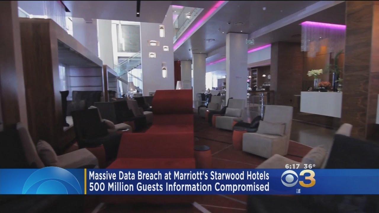 Mive Data Breach At Marriott S Starwood Hotels