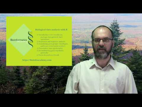 Biological data analysis with R: course introduction