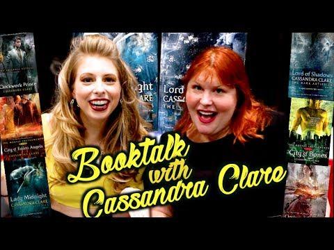 SHADOWHUNTER BOOKTALK WITH CASSANDRA CLARE