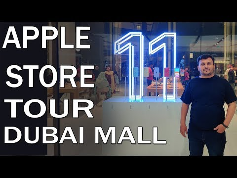 Apple Store Dubai Mall Tour | Iphone prices in dubai mall