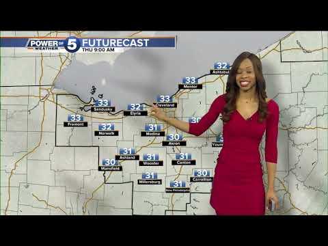 Cleveland Evening Weather Forecast