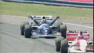 David Coulthard - F1 crash compilation