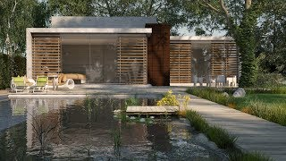Easy Vray Exterior Lighting Tutorial   Vray Sun
