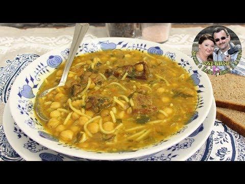 Суп Харира. Согревающий, сытный и очень вкусный. Марокканская кухня.