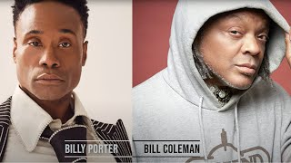 """BILLY PORTER: """"Caught In The Middle"""" A RED HOT + FREE One on One Interview by Bill Coleman"""