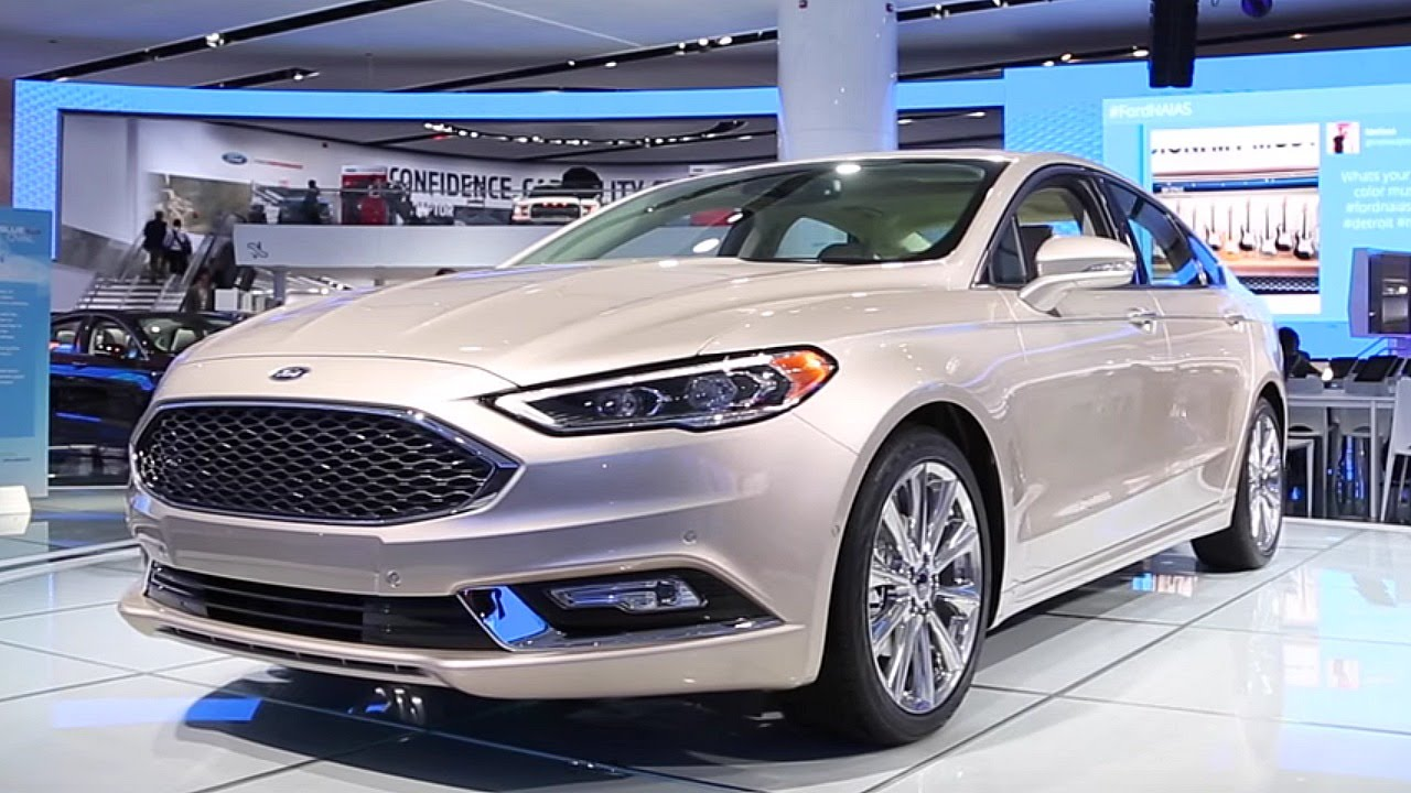2017 Ford Fusion - 2016 Detroit Auto Show - YouTube