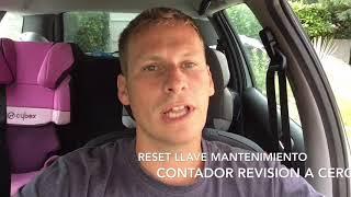 #Peugeot y #Citroen - Reiniciar contador revisión - Borrar llave mantenimiento