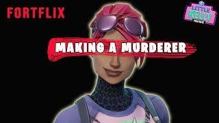 MAKING A MURDERER PART 2 - Fortnite Murder Mystery | LITTLE KELLY