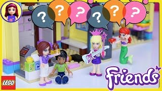 Q&A What do you do with all that Lego? Millie plays with Friends Heartlake High School - Kids Toys
