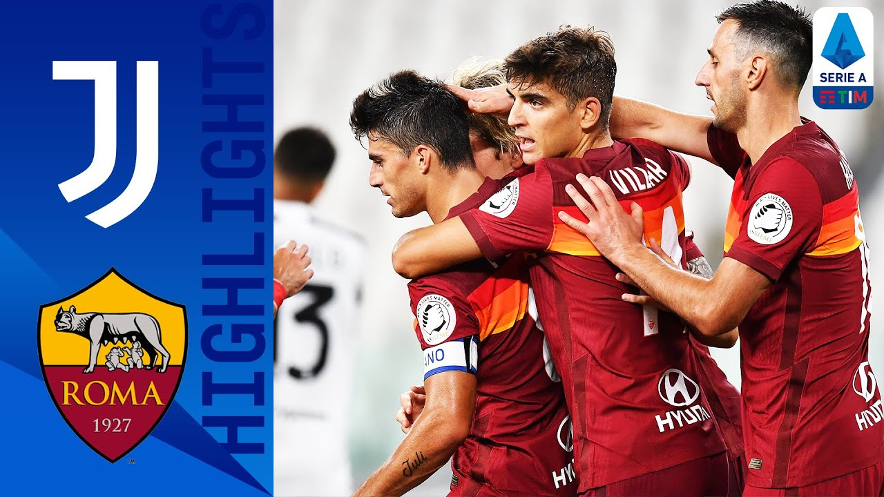 Juventus 1 3 Roma Perotti Double Spoils Juve Title Celebrations Serie A Tim Youtube