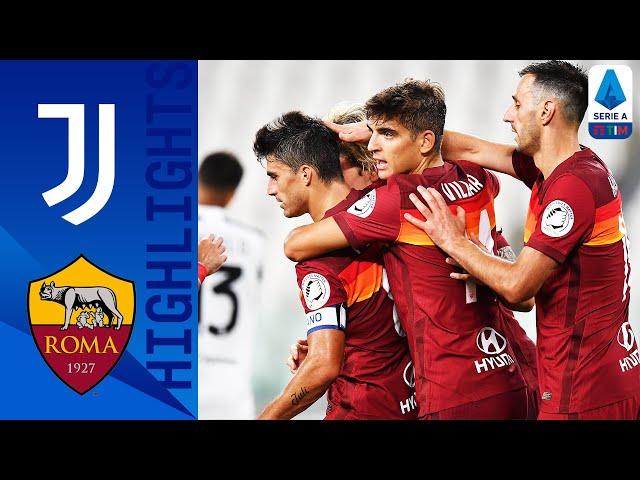 Juventus 1-3 Roma | Perotti Double Spoils Juve Title Celebrations! | Serie A TIM