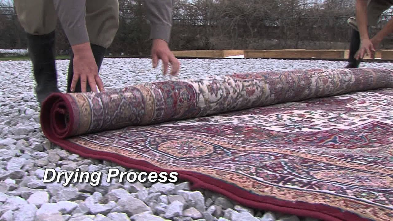 Handmade Oriental Rug Cleaning Process
