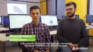 Italian students use Building Information Modeling (BIM) and receive job offers