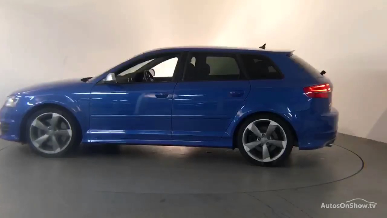 rv11xfe audi a3 s3 sportback tfsi quattro black edition blue 2011 derby audi youtube. Black Bedroom Furniture Sets. Home Design Ideas