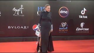 إطلالات غريبة وملفتة في حفل ختام مهرجان القاهرة السينمائي