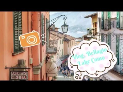 Vlog, Bellagio, Italy