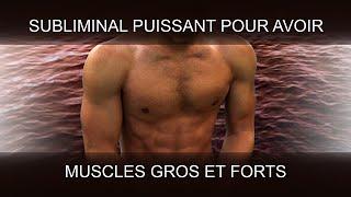 GROS MUSCLES | AVOIR UN CORPS MUSCULÉ | SuperSubliminaL