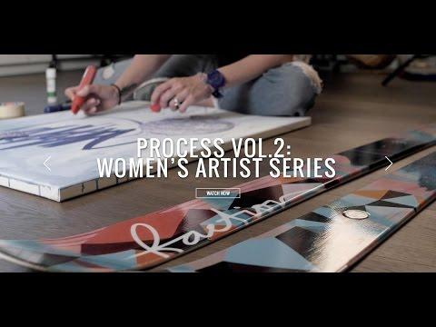 Process Vol.2: Women's Artist Series