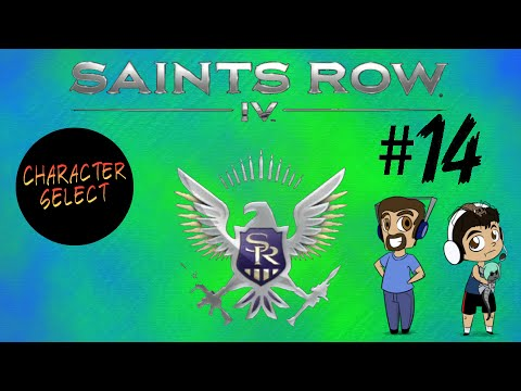 Saints Row 4 Part 14 - Almost Breaks the Game - CharacterSelect |