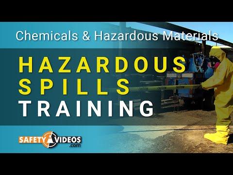 Hazardous Spills Training from SafetyVideos.com