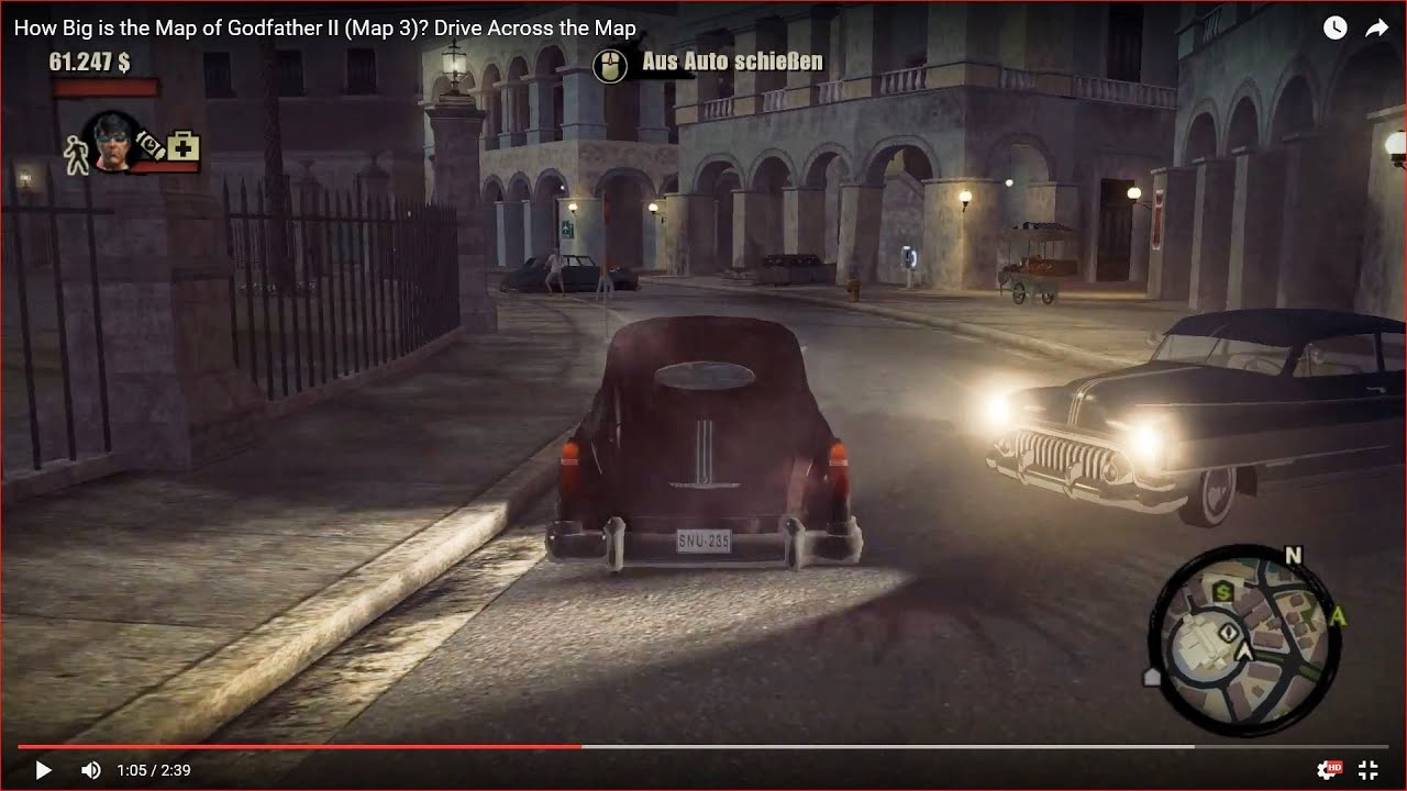 HOW BIG IS THE MAP in Godfather II (Map 3)? Drive Across the Map of Godfather Map on mafia 2 map, halo 2 map, mother 2 map, the godfather map, godfather beverly hills house, batman 2 map, goonies 2 map, godfather game windows 8, half-life 2 map, godfather filming locations, godfather film, godfather five families, transformers 2 map, indiana jones 2 map, godfather movie house, saints row 2 map, just cause 2 map, godfather drawings, godfather 3 game, spiderman 2 map,