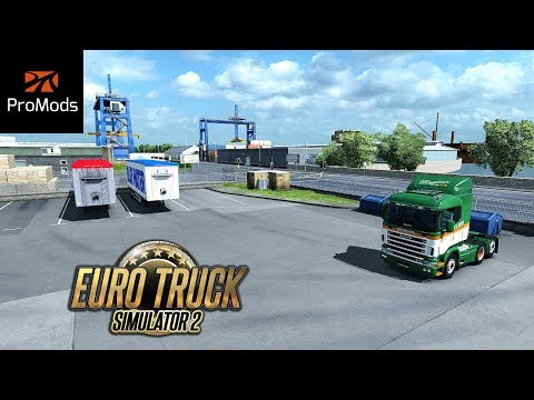 ✅ ETS2 ProMods 2.25 - 2000 Km Trip to Barcelona