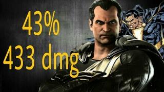 Injustice 2 - 43% Adão Negro Combo Tutorial (Black Adam)