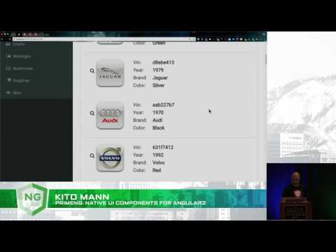 PrimeNG: Native UI Components for Angular - Kito Mann - YouTube