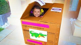Katya y un paquete a Australia