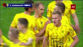 УПЛ | Чемпионат Украины по футболу 2021 | Днепр-1 - Рух -1:1. Видео гола Даниила Кондракова (96`)