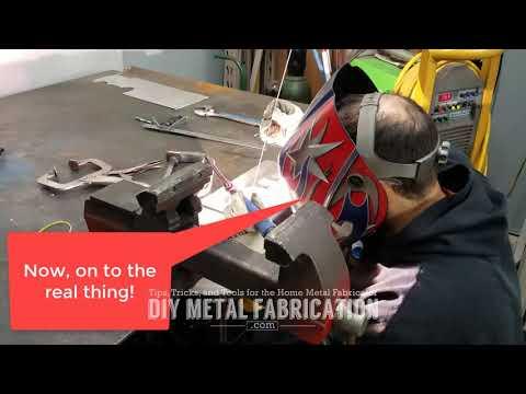 DIY Aluminum Sheetmetal Welding Project