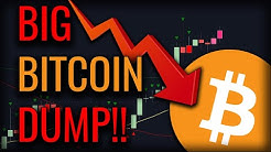 BITCOIN CRASHED $500 IN 15 MINUTES!! - WHAT'S NEXT FOR BITCOIN?