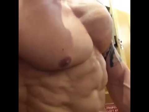 Craig Morton flexing 2