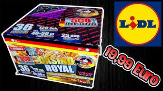 WECO CASINO ROYAL BATTERIE | LIDL 19,99€ | Silvester2k