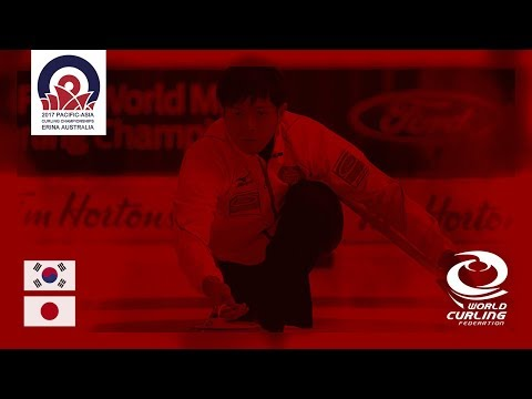Korea v Japan - Men - Round-Robin - Pacific-Asia Curling Championships 2017