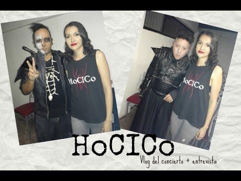 💀 🔥 Hocico / Vlog del concierto + Entrevista 🔥 💀
