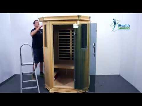 Building an Infrared Sauna Room | iHealth Saunas, Australia