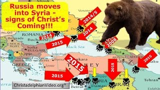 Russia Moves Into Syria: Sign Of Christ