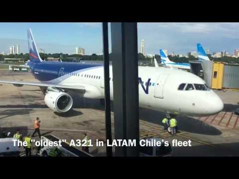 Buenos Aires - Santiago LATAM Airbus A321