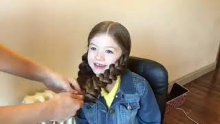 видео Причёски для девочек в школу
