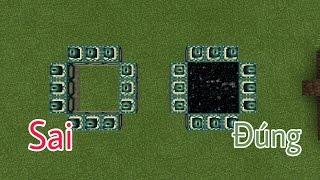 HƯỚNG DẪN LÀM CÁNH CỔNG THE END CỰC DỄ VÀ CHÍNH XÁC 100% TRONG MCPE | Minecraft PE 1.1.0.9