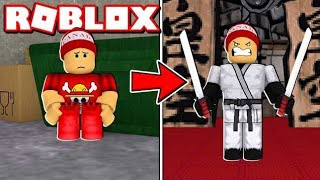 The FRACOTE BECAME a MIGHTY NINJA in ROBLOX ⚔️ → Ninja Masters 🎮