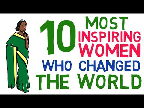 Top 10 Most Inspiring Women in World Who Created History   Great Women in History