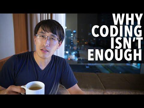 Why coding isn't enough.