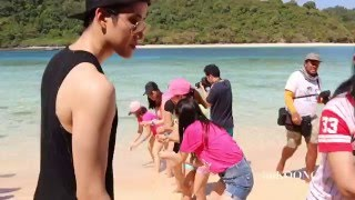 Activity on the beach 2 @ AOMIKE FC Trip PHUKET 20160123