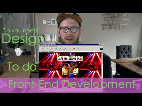 Do You Need to Know Design to Do Front End Web Development?