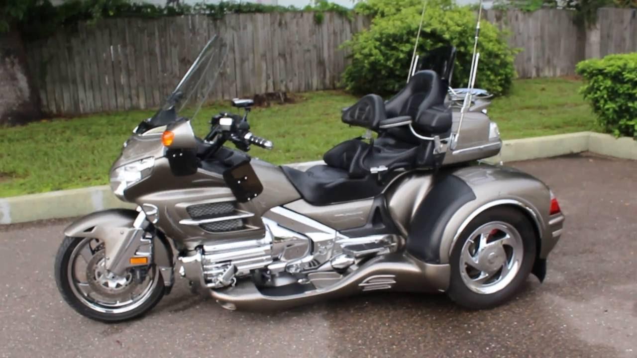 Sold 2008 Honda Goldwing Gl1800 California Sidecar Trike Fully