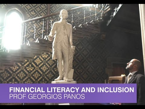 Financial literacy excellence agenda at the University of Glasgow, with Professor Georgios Panos