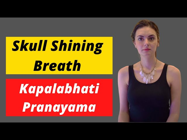 How to do skull shining breath - Kapalabhati pranayama technique | iChakras